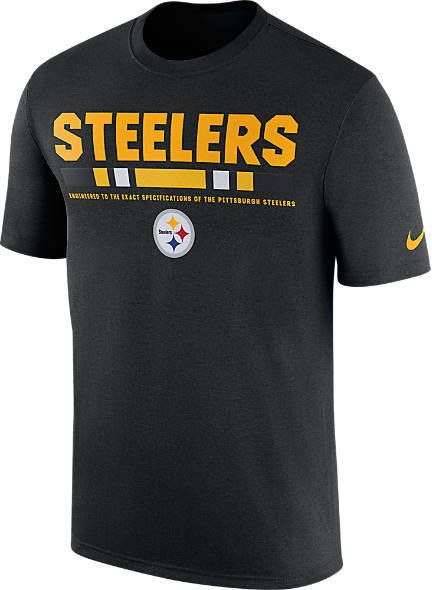3acf3120 Men's Nike Pittsburgh Steelers NFL Legend Staff T-Shirt | Products ...