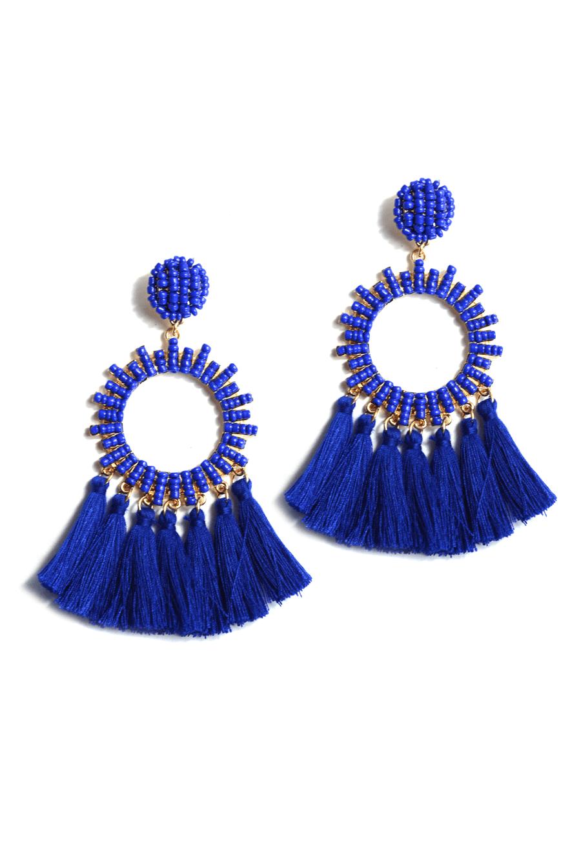 a5531f9ea TWD Tessa Earrings | Products | Earrings, Tassel earrings, Jewelry