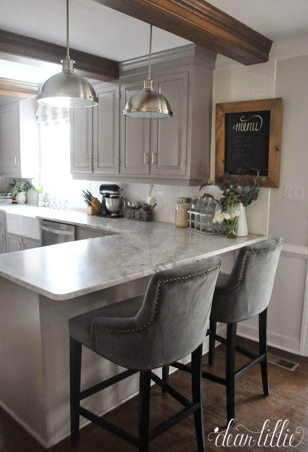 The Finishing Touches on Our Kitchen Makeover (Before and Afters) – Dear Lillie Studio