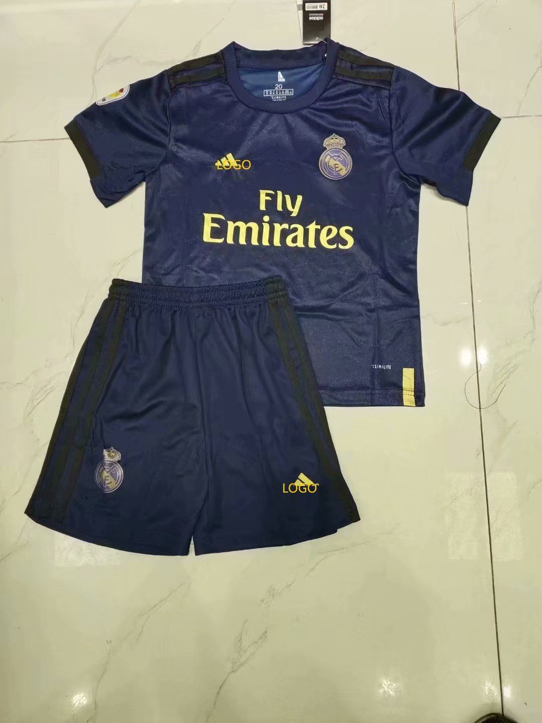 1920 children aaa quality real madrid away soccer