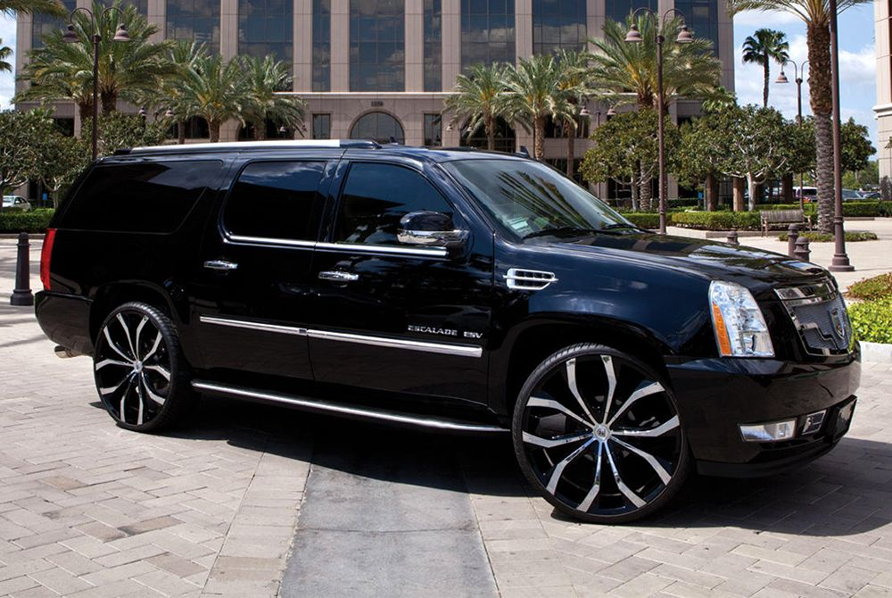 Cadillac Escalade Esv Rims Google Search Suv Trucks