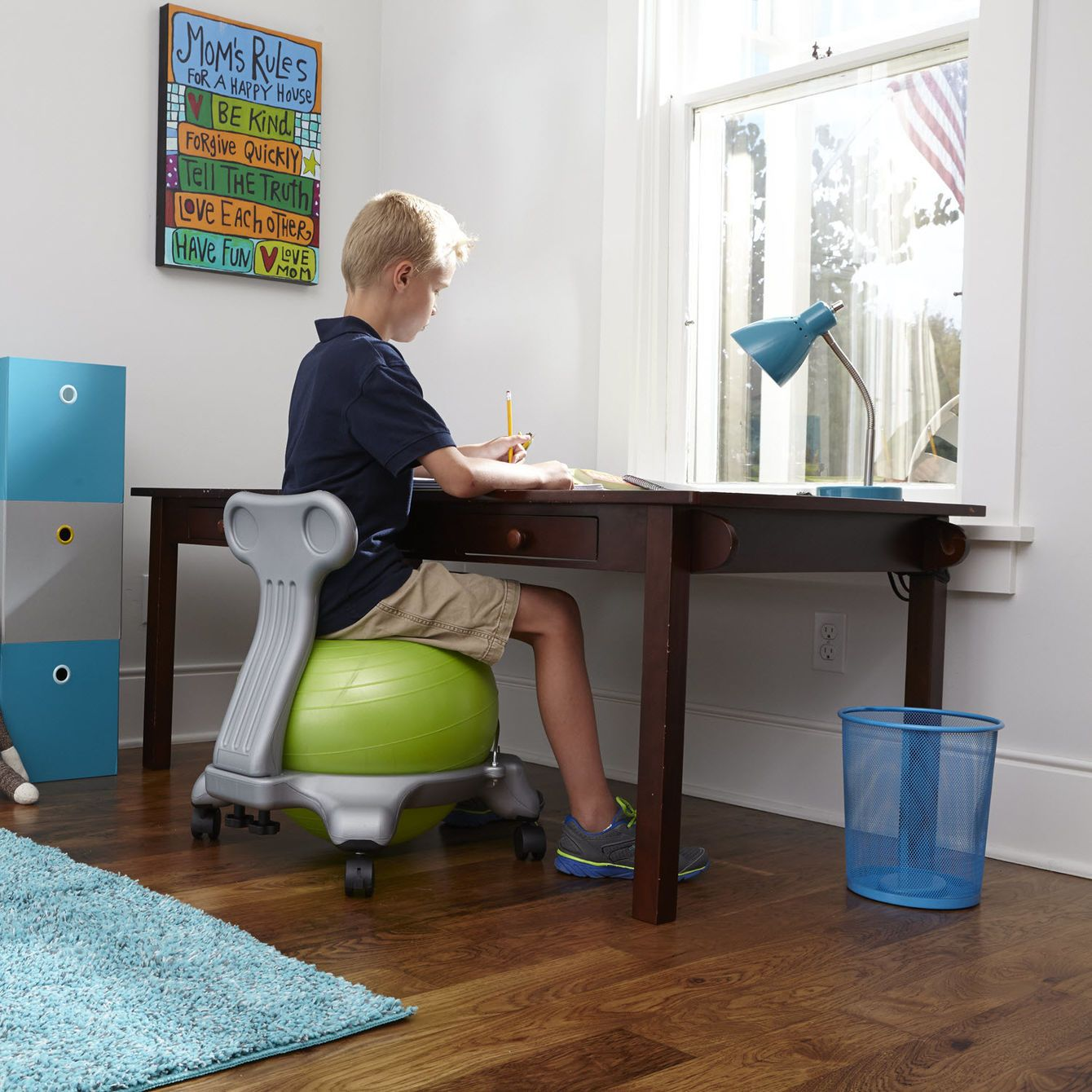 balance chair for kids antique arm classic ball minis chairkids green