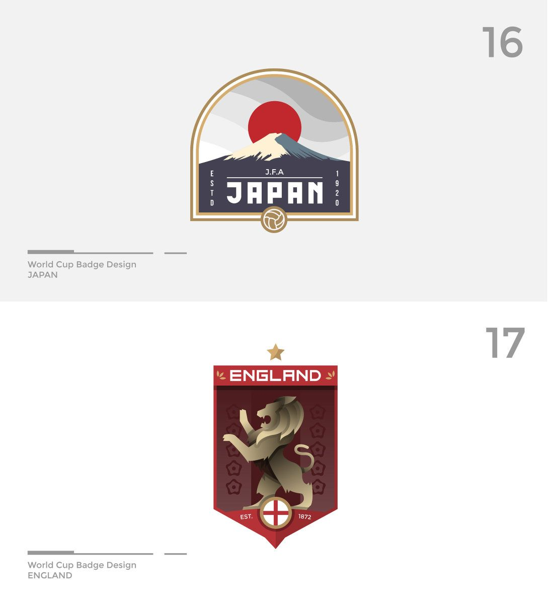 World Cup Badge Design Fifa World Cup 2018 On Behance In 2020 Badge Design World Cup Logo World Cup