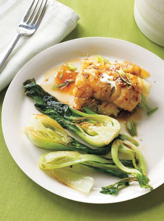Maple-Glazed Cod With Pak Choi Looks delicious and simple to prepare. Must try!