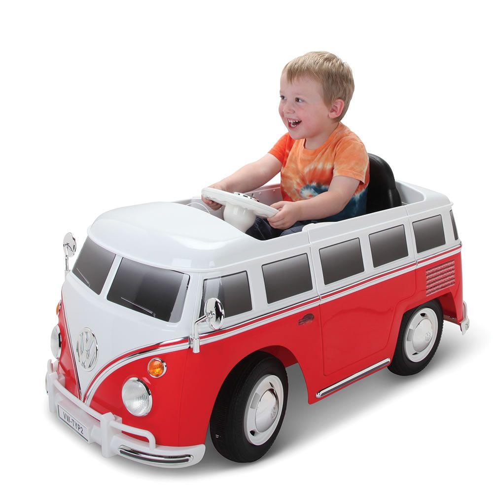 The Children's Ride On Volkswagen Bus Hammacher