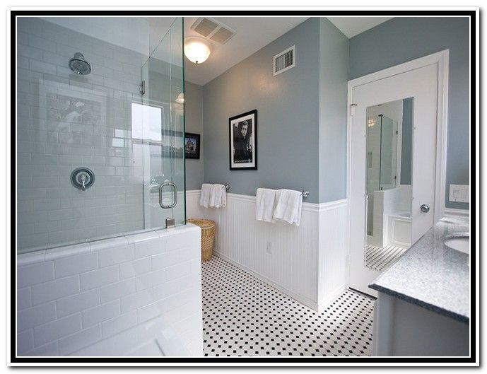 Image result for paint color for white tile bathroom ...