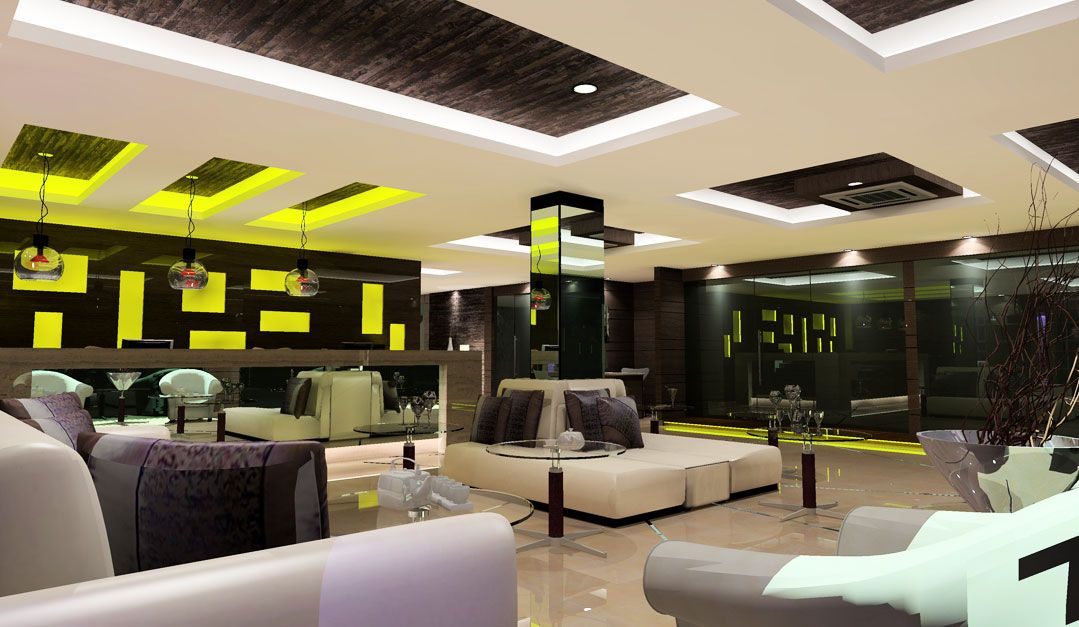 luxurious modern hotel lobby design ideas with really cool lighting
