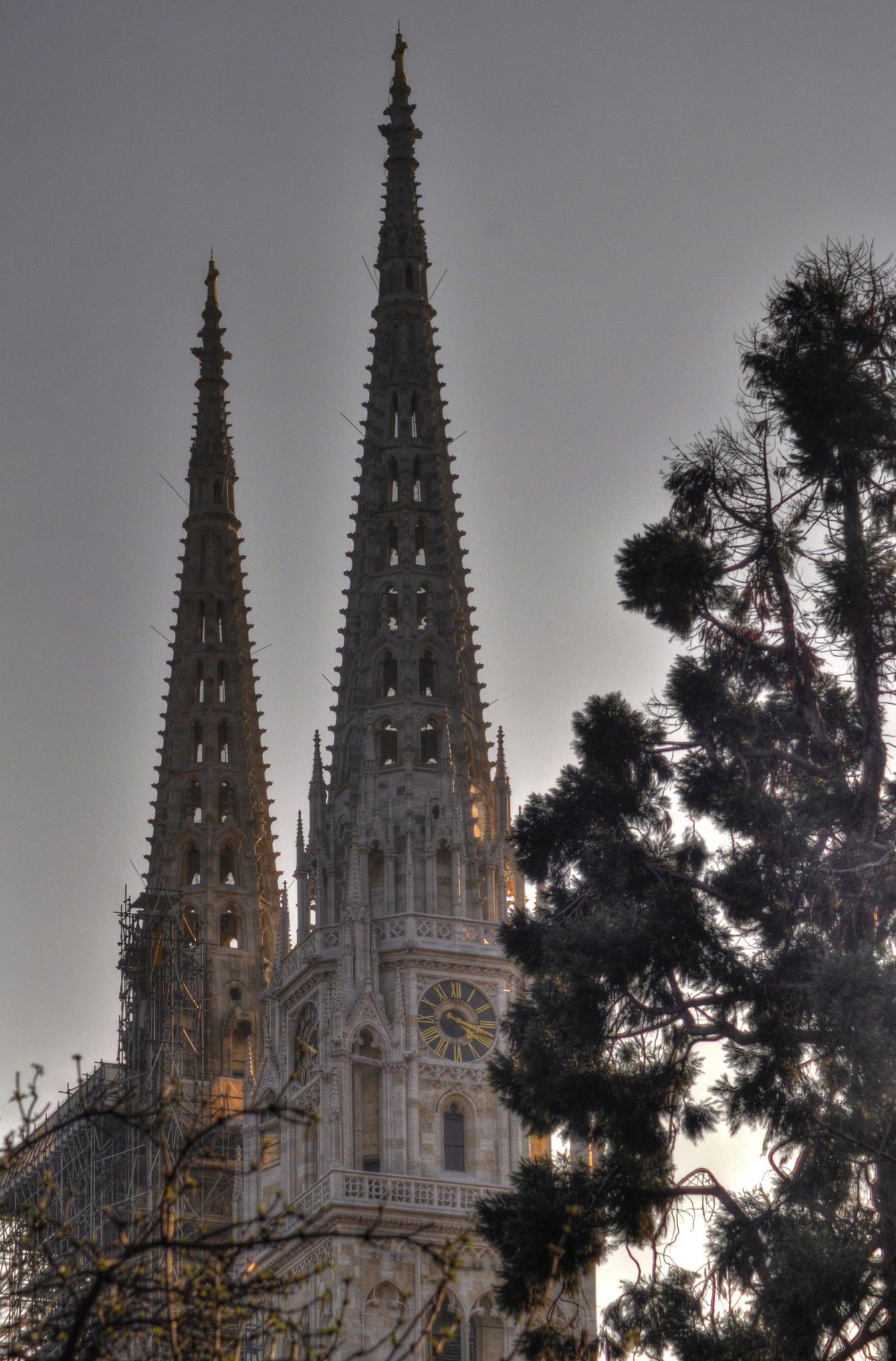 Towers Of Zagreb Cathedral By Zeljko Kliska On 500px