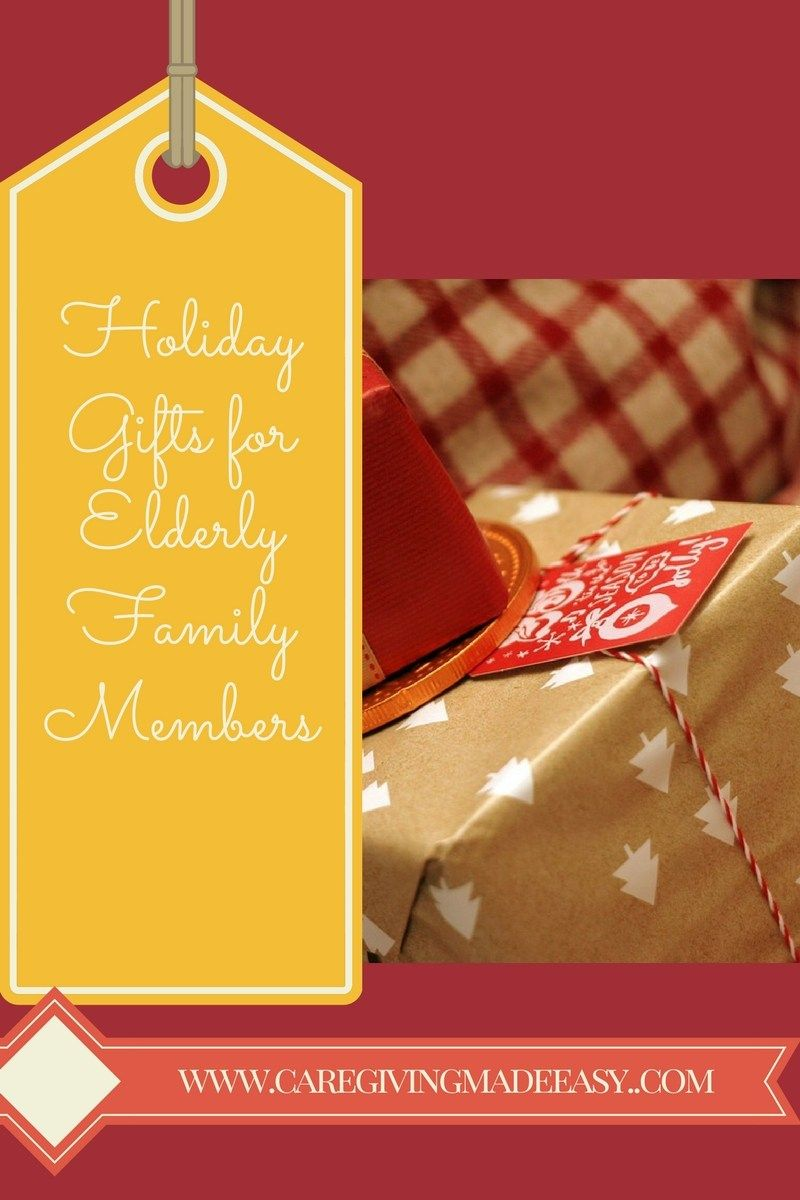 Holiday gifts for elderly relatives gifts for elderly