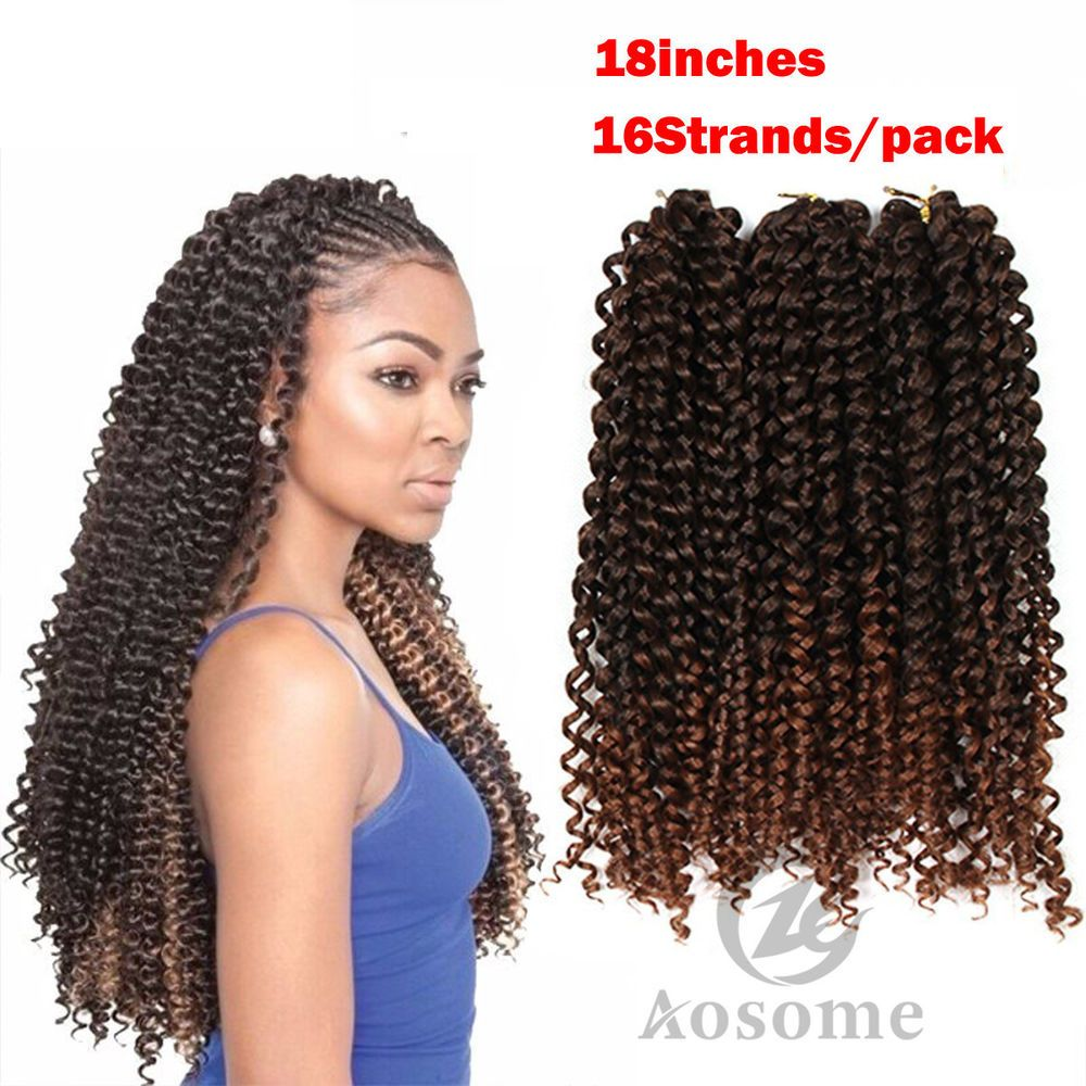 8pack freetress synthetic water wave bulk braid crochet