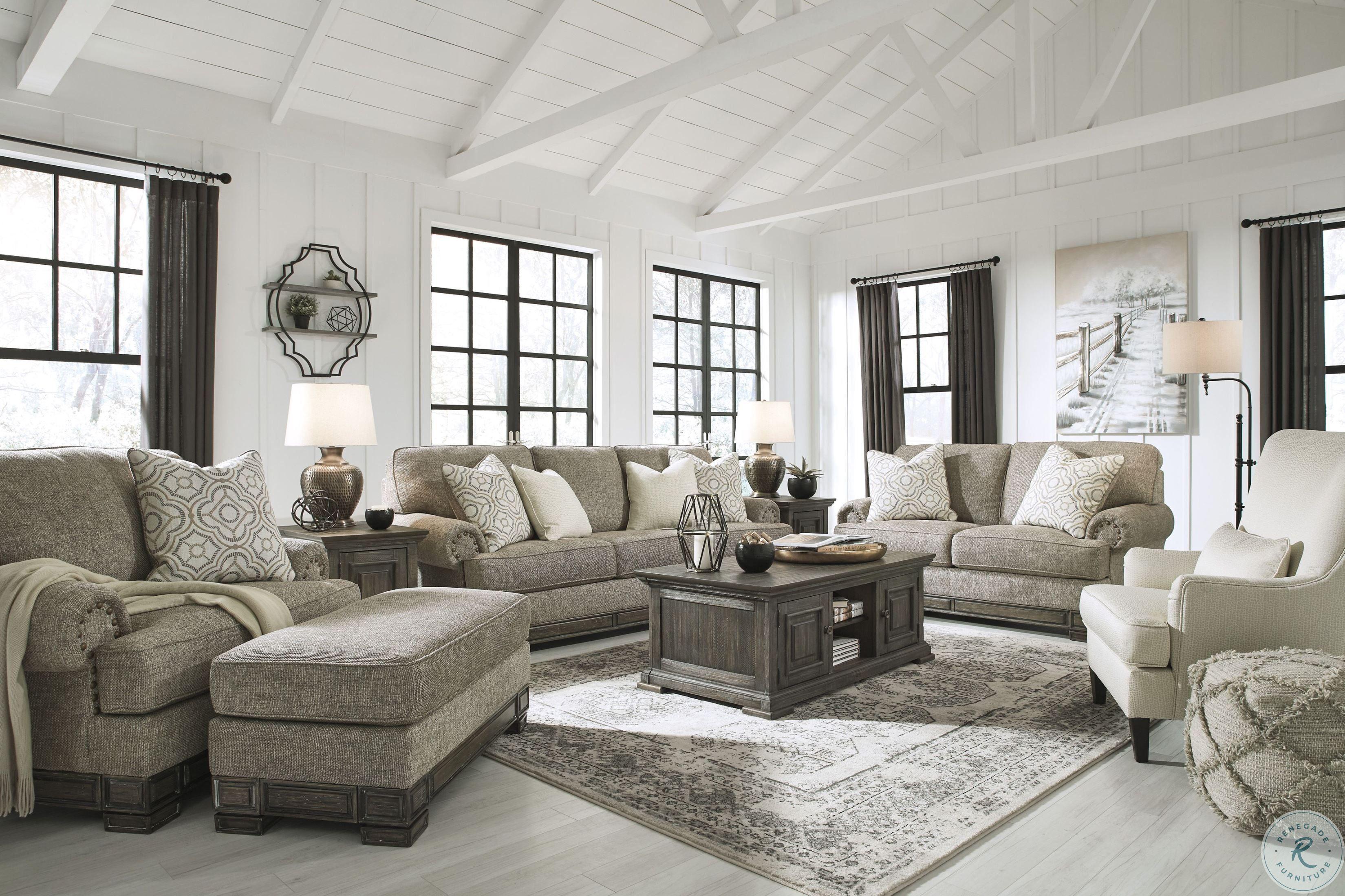 Harrietson Shell Living Room Set In 2020 Living Room Grey