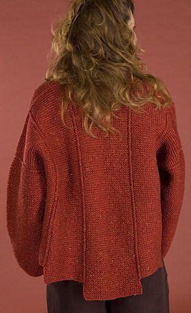 Unicornio Patrón: Chaqueta Panel - Knitting Pattern gratuito | Dos ...