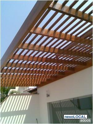 Techos de madera lima metropolitana y callao otros for Techos de madera para patios