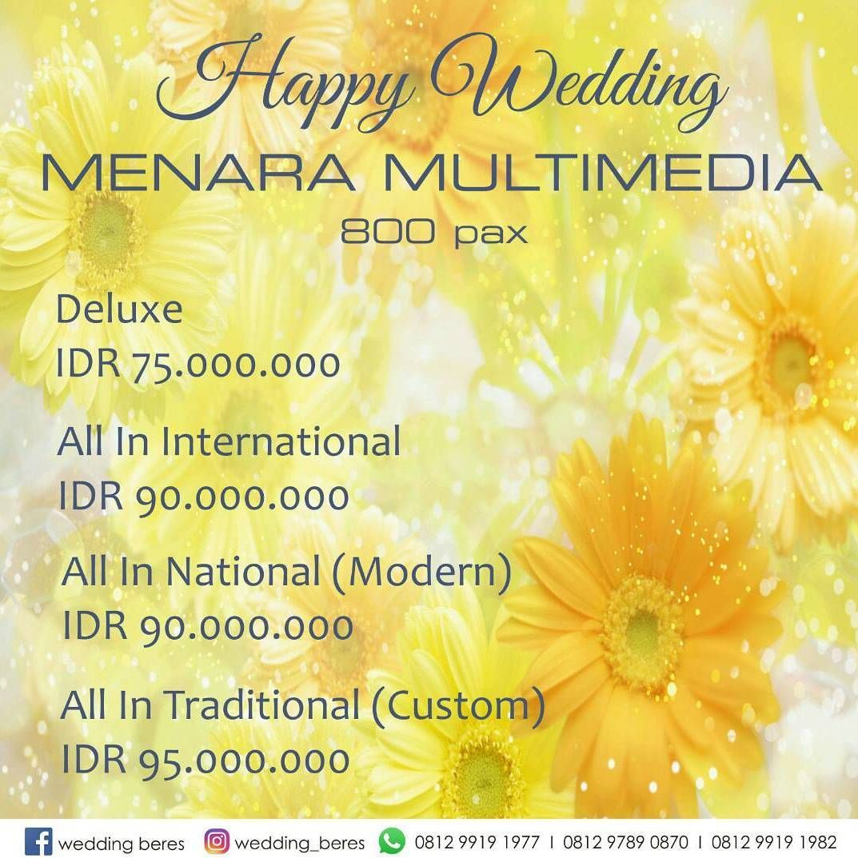 WEDDING BERES 021 8898 8000 // 8888 2055 // 8888 2056