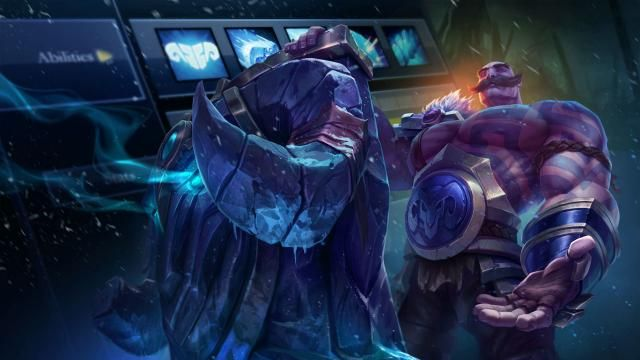 Dev Blog Champion Animation League Of Legends League Of Legends Lol Champions Braum S
