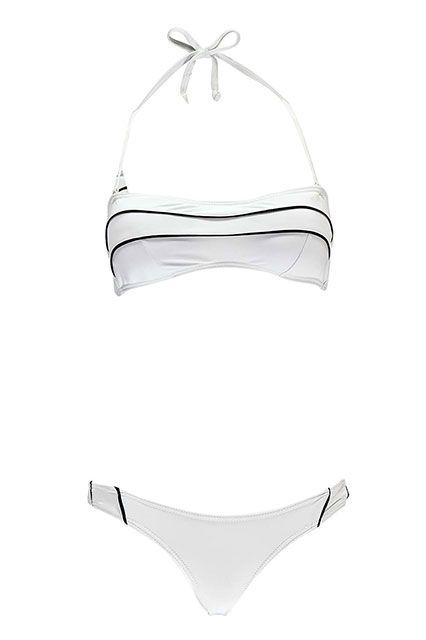 The Best Bikinis You Can Score For $50 Or Less #refinery29  http://www.refinery29.com/cute-bikinis-under-50-dollars#slide-16  White hot.