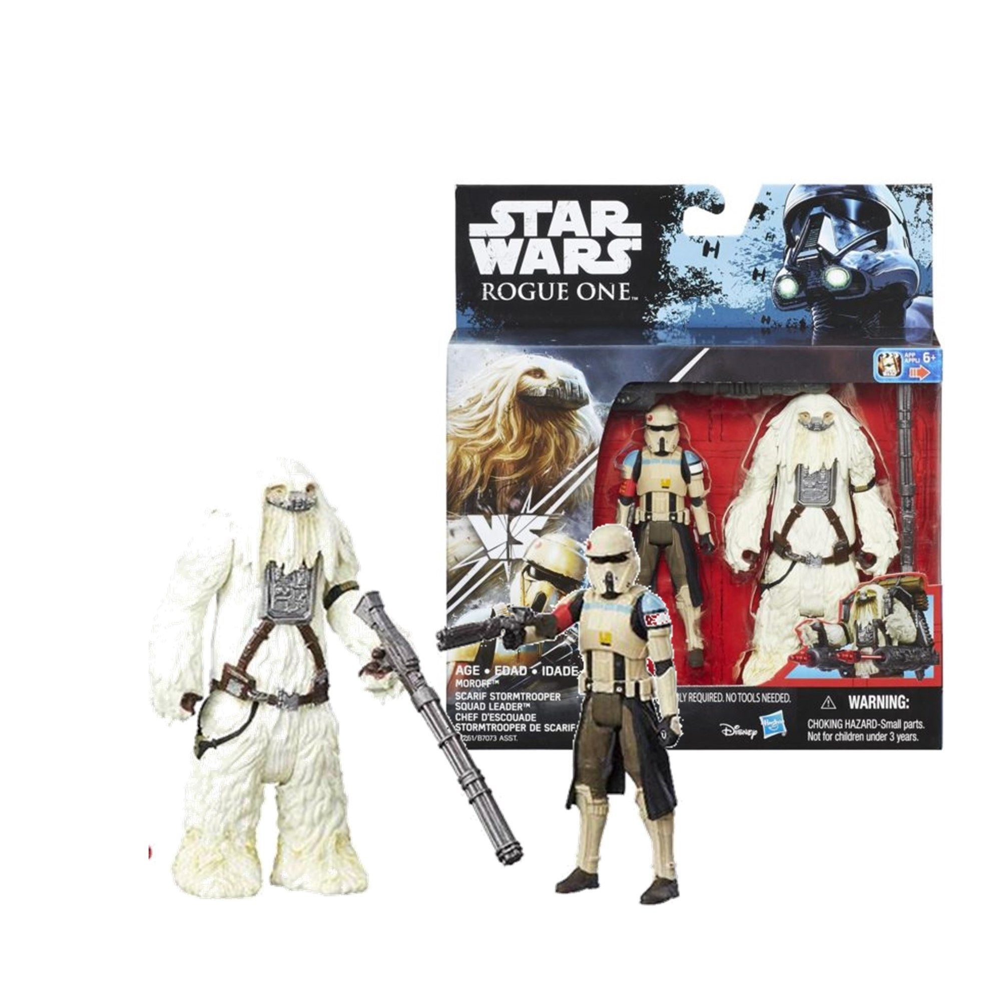 Star Wars Rogue One Moroff Scarif Stormtrooper Squad Leader Action Figure
