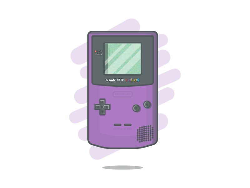 Game Boy Color Purple Gameboy Color Boys
