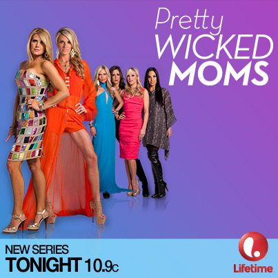 Repin if you're not doing a darned thing other than treating yourself to the company of Pretty Wicked Moms tonight! #PrettyWickedMoms