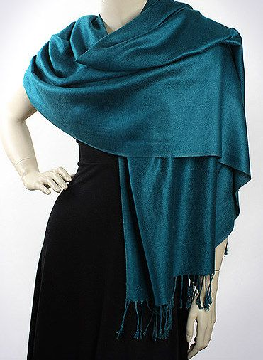 Teal Pashmina - Top of the Line Series | Wedding Ideas ...