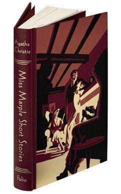 Miss Marple Short Stories Folio Illustrated Book Agatha Christie Books Agatha Christie Miss Marple
