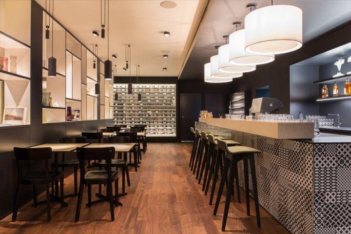 brasserie lwen restaurant by barmade interior design zug switzerland retail design blog - Restaurant Interior Design