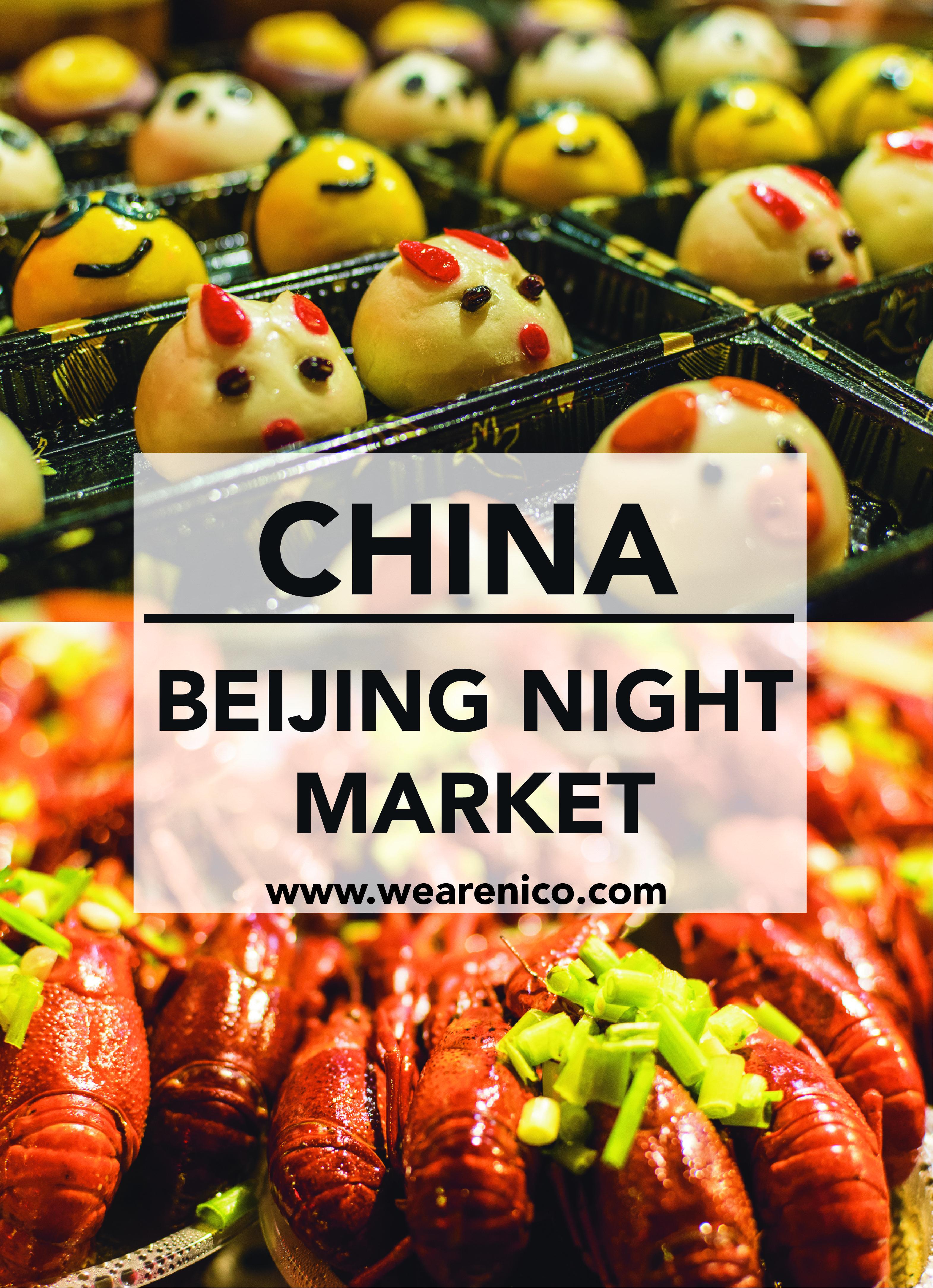 Beijing Night Market Night Market Beijing Food Local Chinese Food