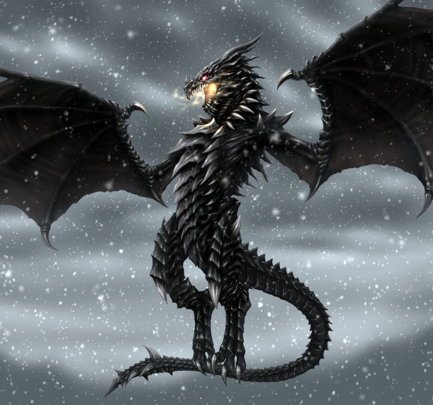Skyrim Alduin Skyrim Art Skyrim Dragon Dragon Pictures