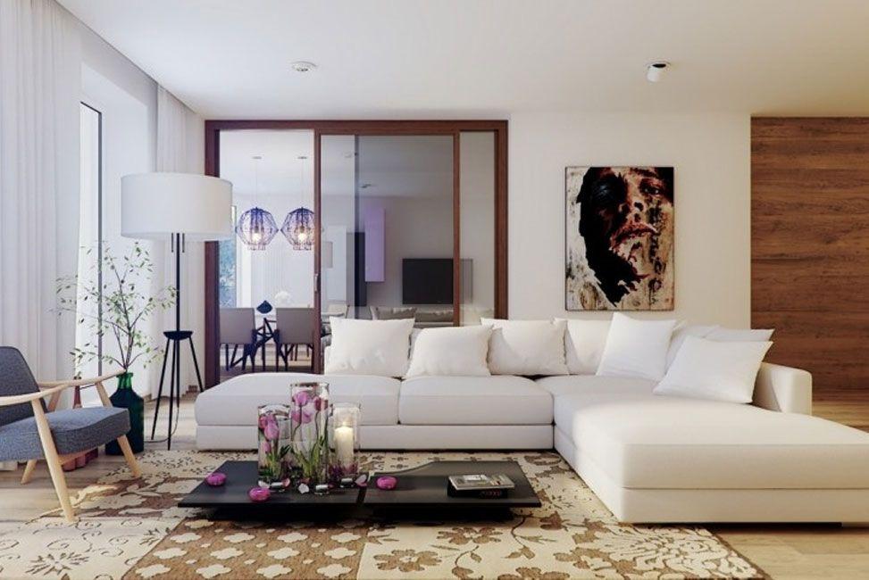 Grande-bianco-componibile-mobili-soggiorno-moderno-comodo-divano ...