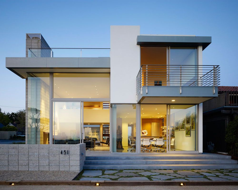 Modern House (mit Bildern) Minimalistisches hausdesign