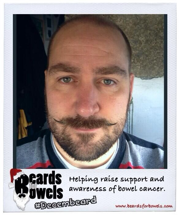 Mo-Merger Andrew Wallis sporting #Decembeard