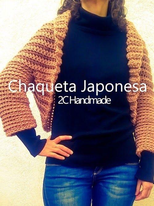 CHAQUETA JAPONESA | COMPLEMENTOS HANDMADE | crochet | Pinterest ...