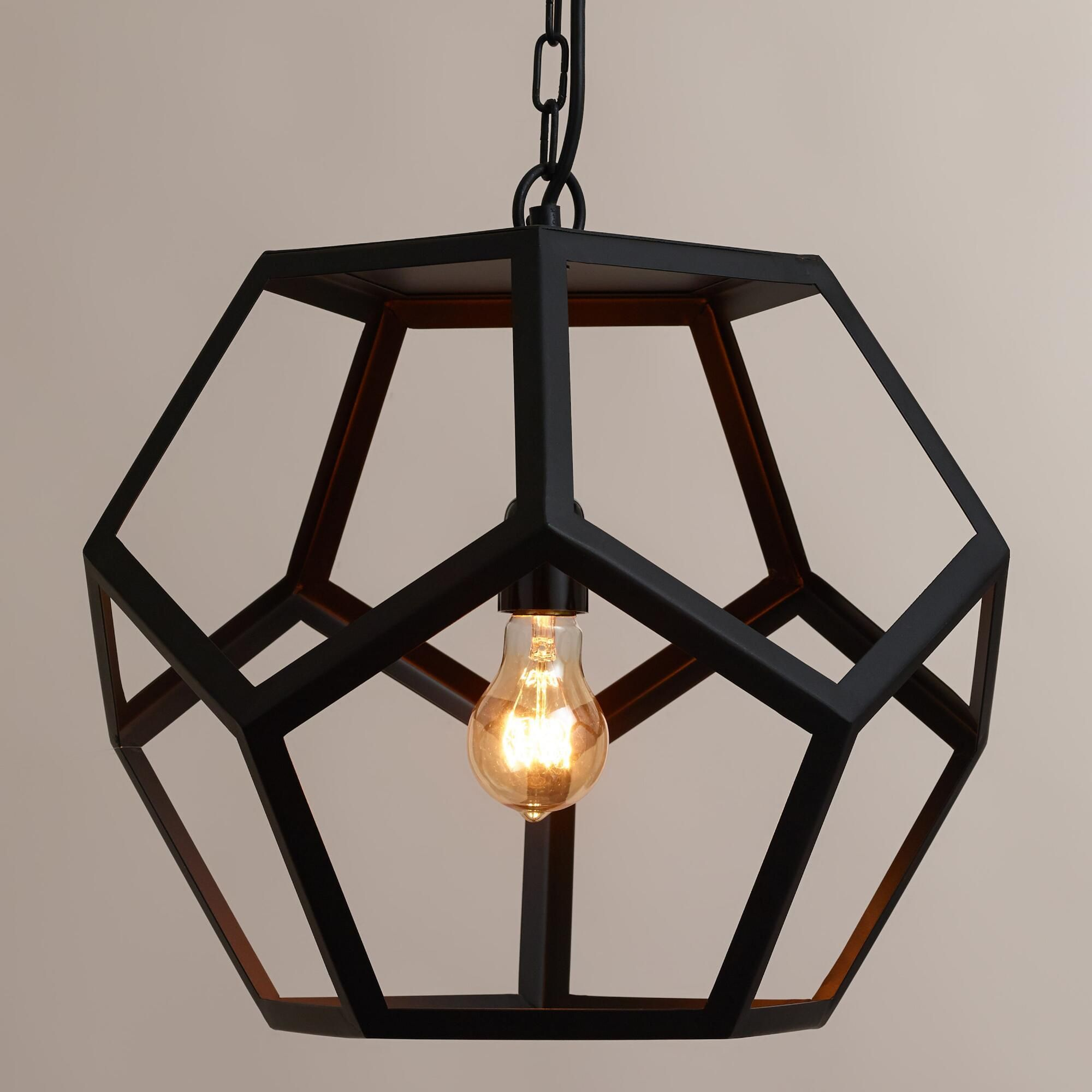 Hexagon Pendant Lamp