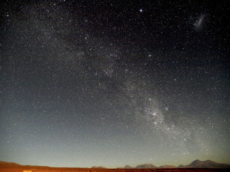 desierto de atacama 天の川 世界の絶景 アタカマ砂漠