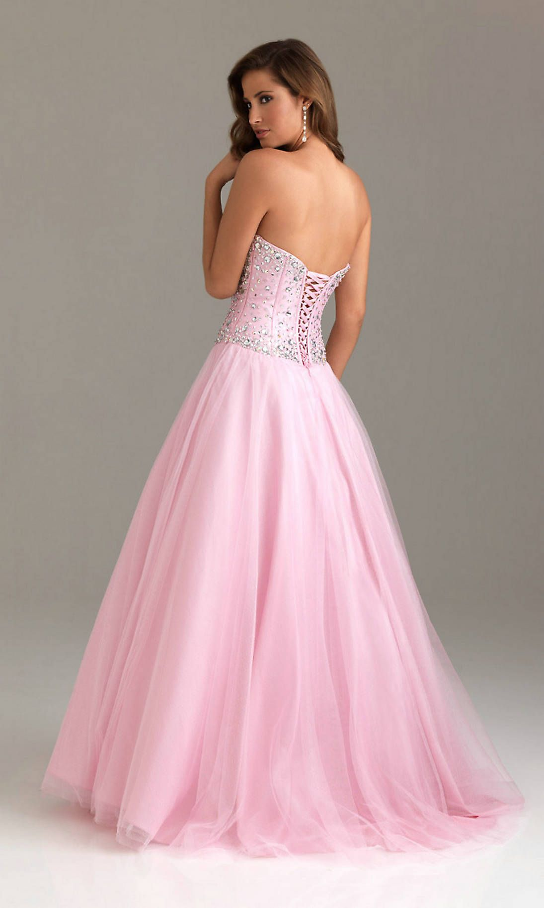 pink-prom-dress- - Pink Prom Dress - Pinterest - Prom dresses ...