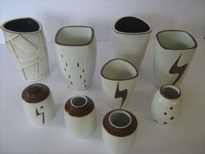 5 Mooie Vazen : Mooi kavel ravelli bestaande uit vazen cm hoog ca ø cm