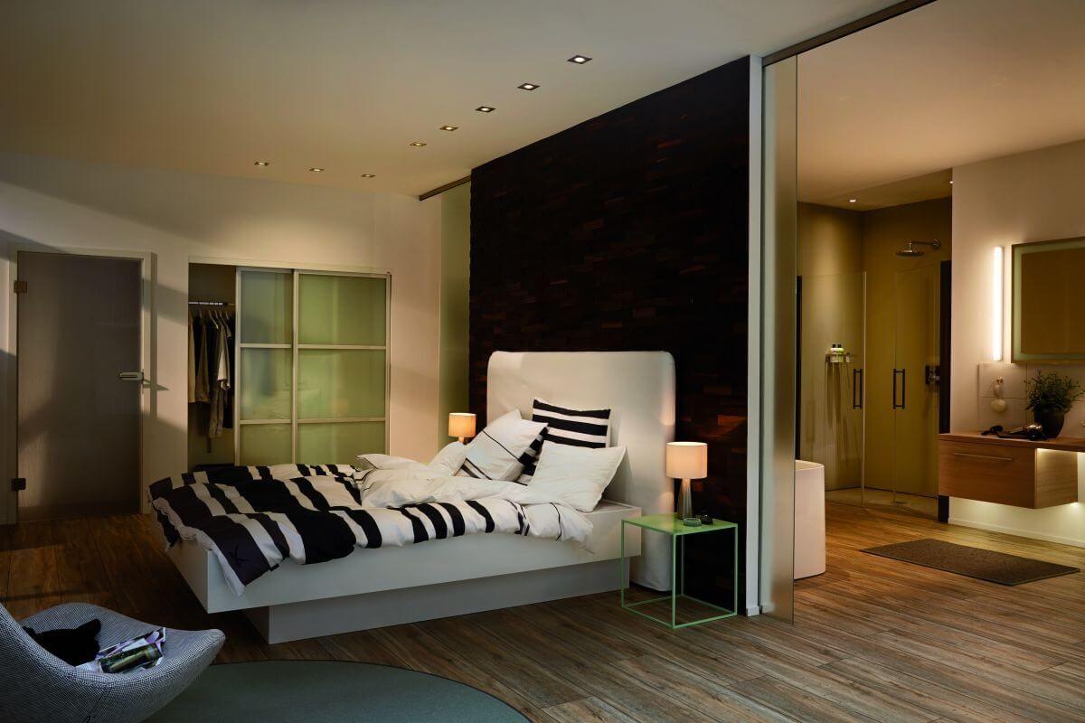 Elektroinstallation schlafzimmer ~ Auch im schlafzimmer ein highlight❗️einbauleuchten von paulmann