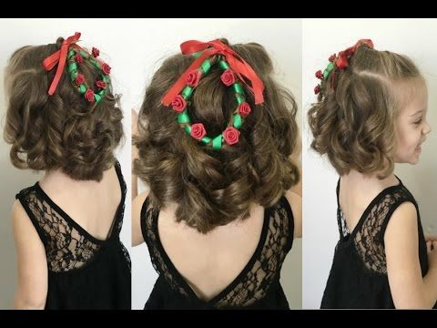 Christmas Wreath Hairstyle For Short Hair 12 Braids Of Christmas