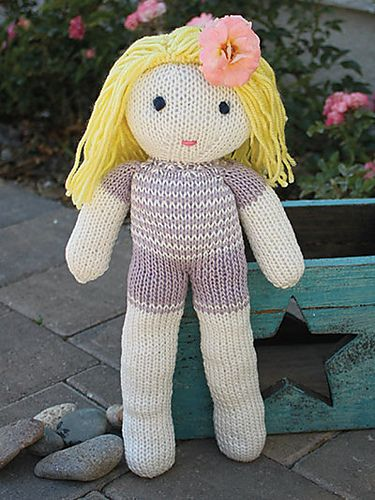 Deborah Doll Knit Pattern By Lena Skvagerson Crochet Ideas