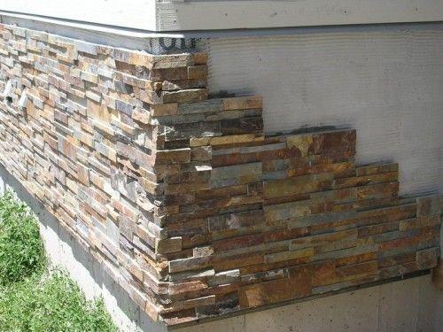 Incredible Stone Facade Design To Spike Up Design Of Buildings Exterior Stone Stone Veneer Exterior House Exterior