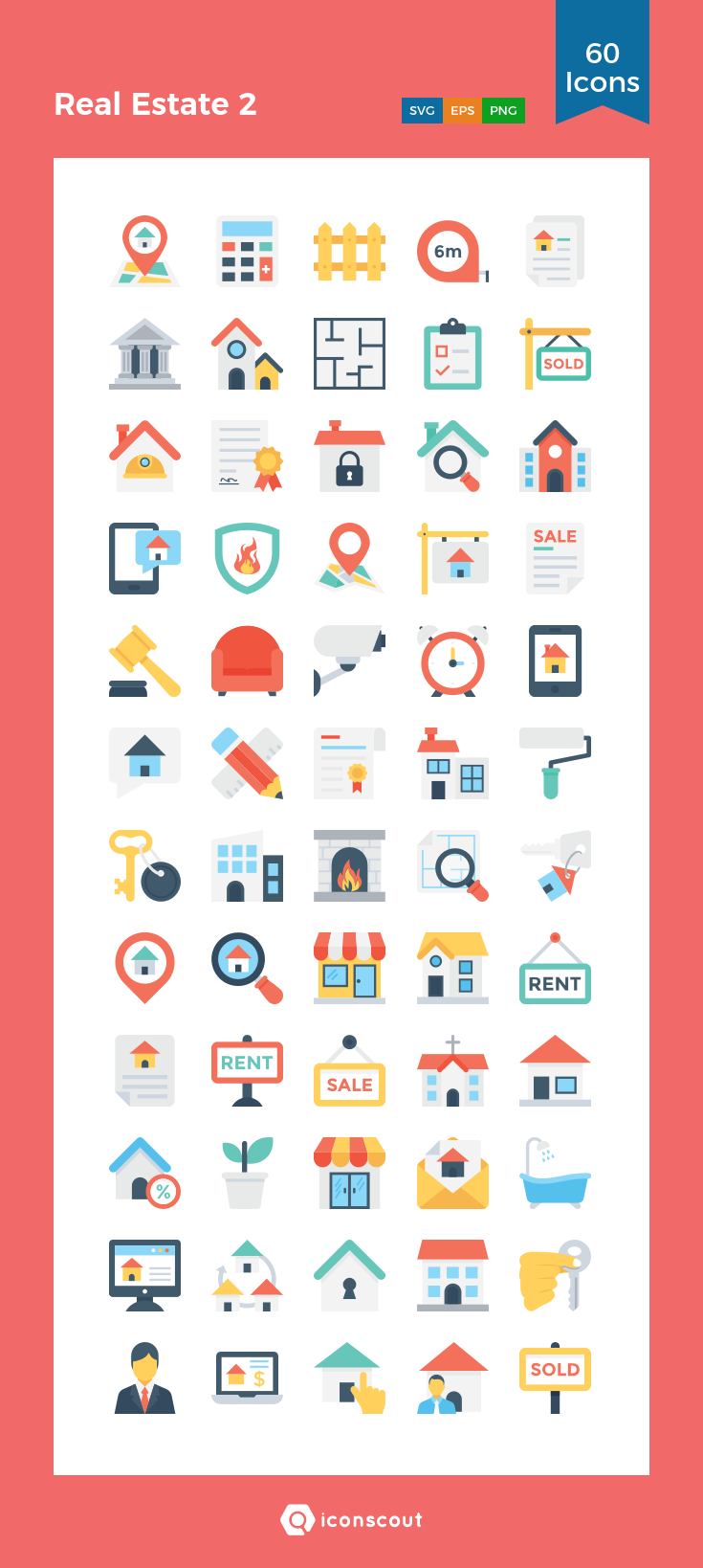Download Real Estate 2 Icon pack Available in SVG, PNG