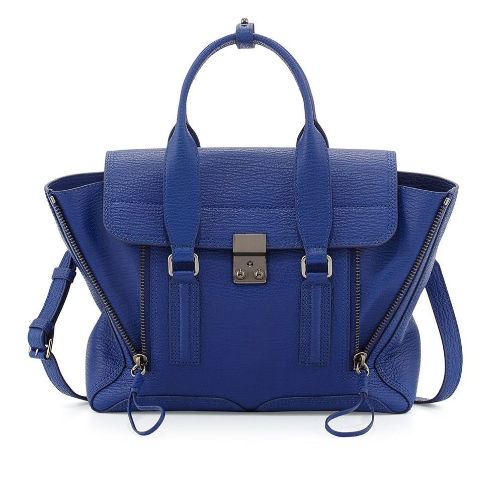 3.1 Phillip Lim Pashli Cobalt Medium Satchel