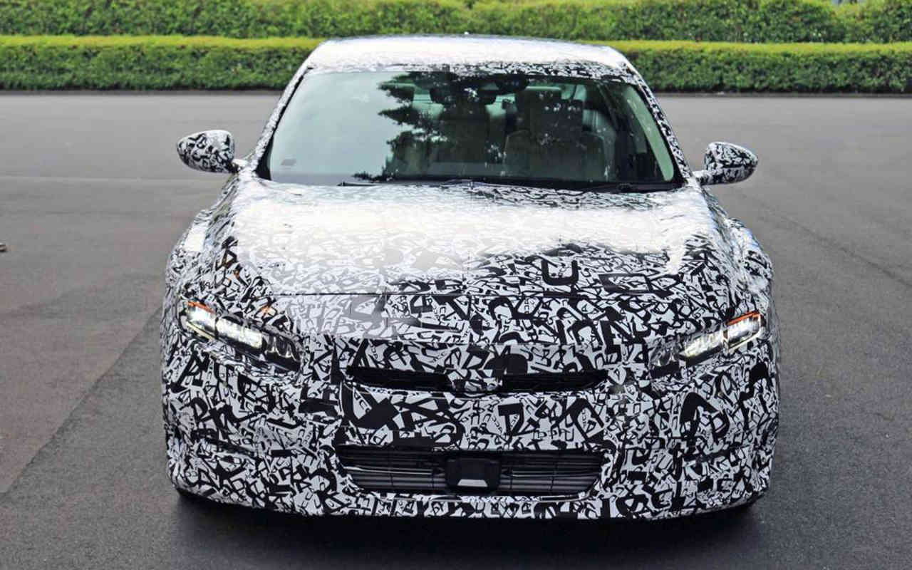 2020 honda accord sedan spy shots coupe confirm get turbo engines http