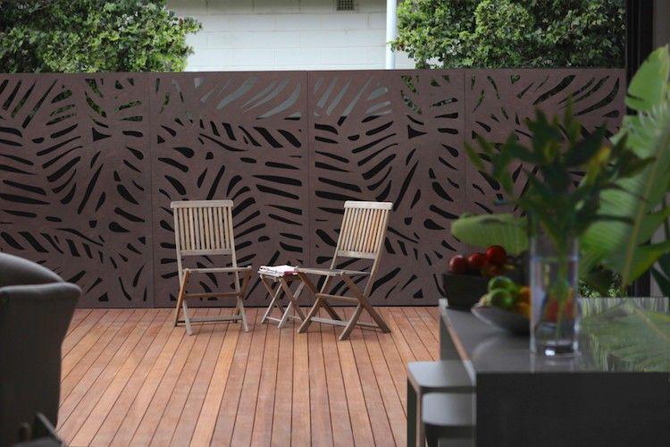 Elegant Gartenabtrennung Ideen Aus Dem Besonders Trendigem Im Moment Cortenstahl