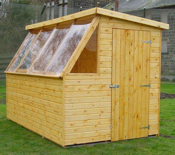 Greenhouse potting sheds potting shed prices garden for Versatile sheds prices