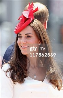 Catherine, Duchess of Cambridge attends Canada Day Celebrations at Parliament Hill on day 2 of the Royal Couple's North American Tour on July 1, 2011 in Ottawa, Canada.