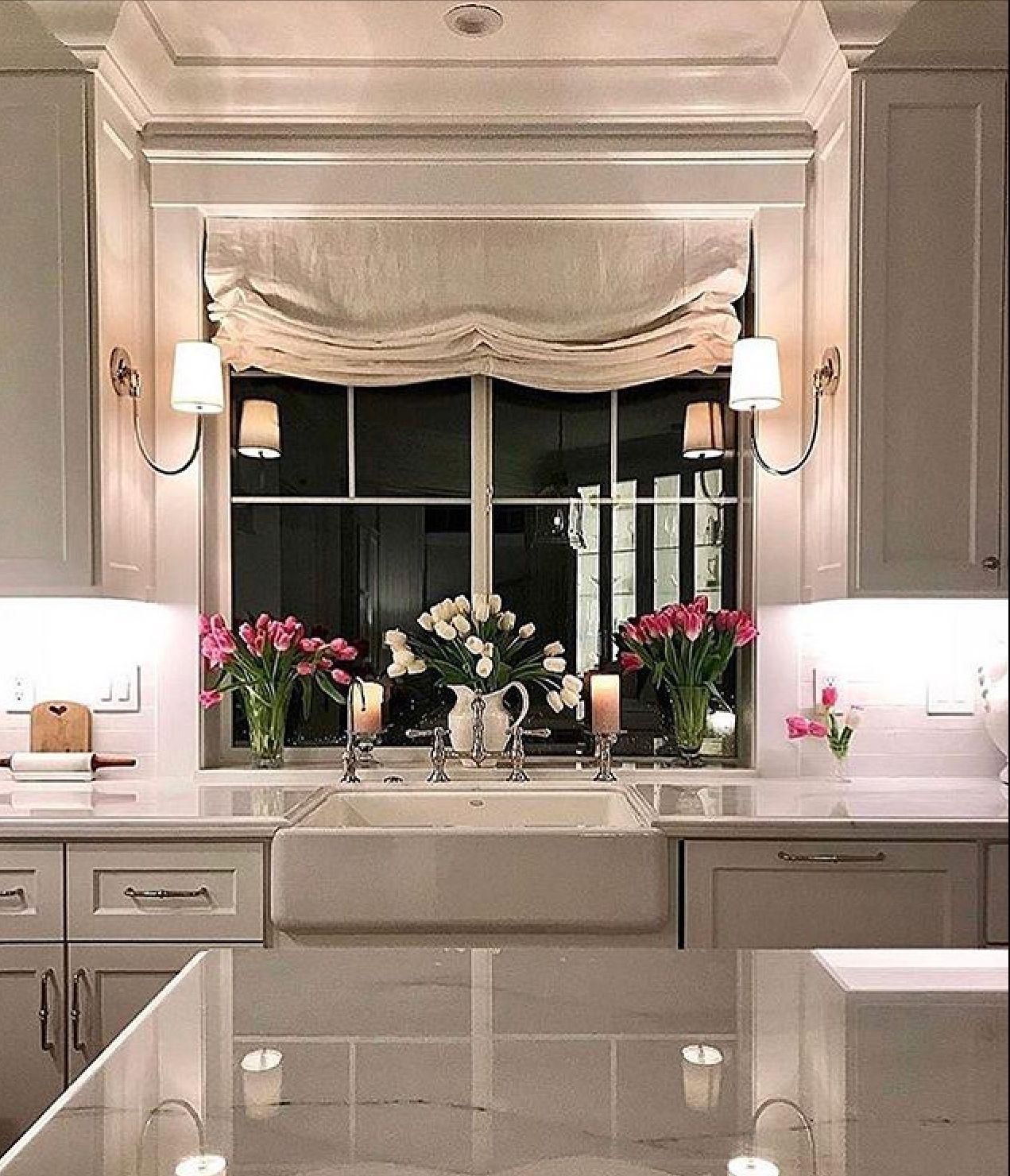 Lighting   Kitchen bay window, Bay window living room ...