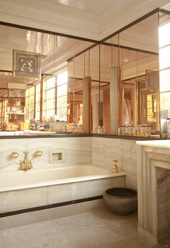 Rose gold hues | Architecture & Interior | Art deco bathroom ... Nautical Bathroom Art Deco Designs on zen bathroom design, medieval bathroom design, vintage inspired bathroom design, geometric bathroom design, transitional bathroom design, floral bathroom design, tuscan bathroom design, art nouveau bathroom design, reclaimed wood bathroom design, simple bathtub design, classical bathroom design, nature bathroom design, bathroom floor design, star wars bathroom design, shaker style bathroom design, country bathroom design, international bathroom design, gold bathroom design, celtic bathroom design, pop art bathroom design,