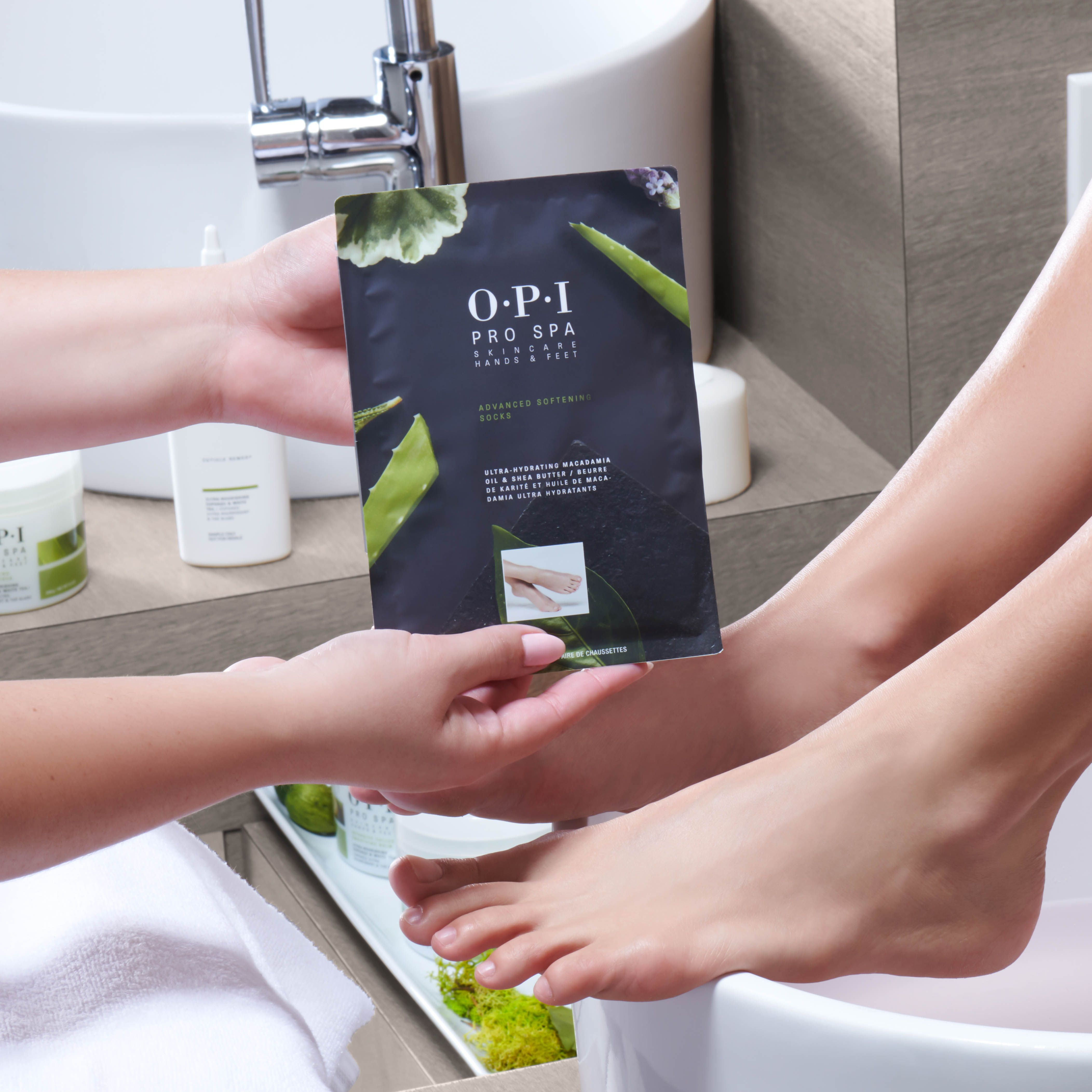 Opiprospa Advanced Soothing Socks Don T Get A Pedi Without Them Your New Soft Feet Will Love You Skin So Soft Spa Manicure Soften Skin