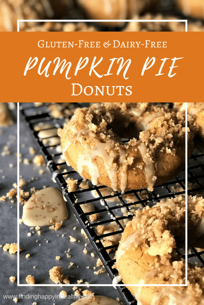 Pumpkin Pie Donuts (Gluten & Dairy free) Recipe | Gluten Free Coupons and Deals